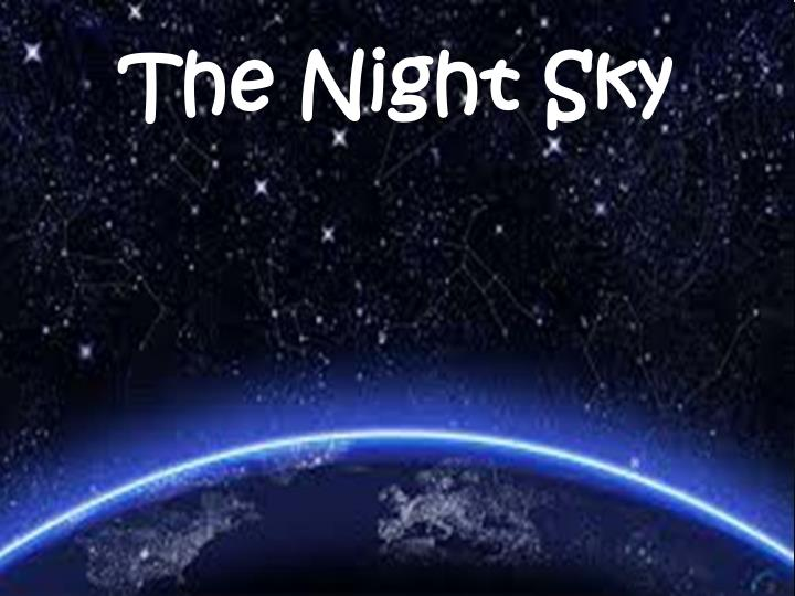 the night sky n.