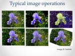 typical image operations