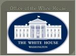 office of the white house
