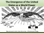 the emergence of the united states as a world power