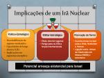 implica es de um ir nuclear