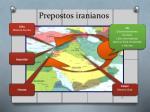 prepostos iranianos