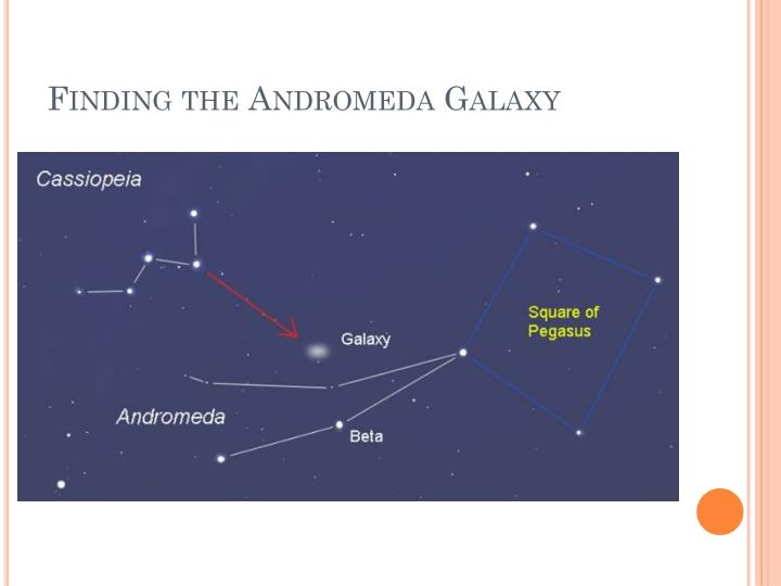 Finding the Andromeda Galaxy