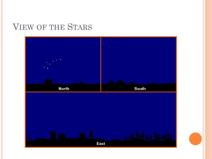 View of the Stars