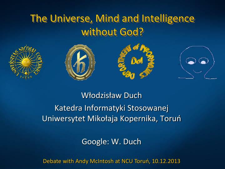 the universe mind and intelligence without god n.