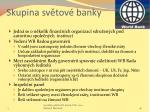 skupina sv tov banky