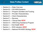 state profiles content