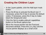 creating the children layer1