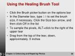 using the healing brush tool1