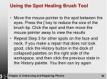 using the spot healing brush tool1