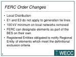 ferc order changes