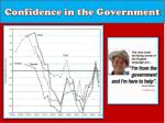 confidence in the government