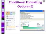 conditional formatting options 6
