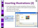 inserting illustrations 2