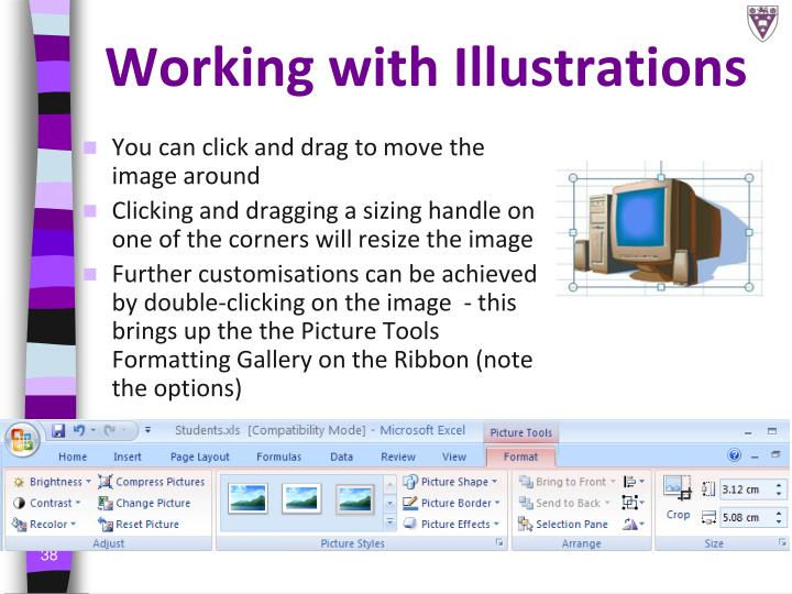 Working with Illustrations