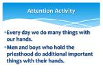 attention activity1