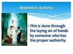 attention activity11