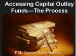 ped capital outlay bureau