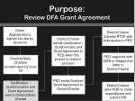 purpose review dfa grant agreement1