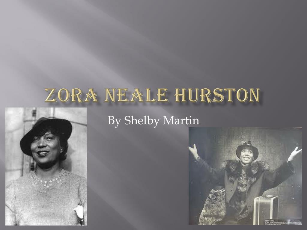 Ppt Zora Neale Hurston Powerpoint Presentation Id2224334