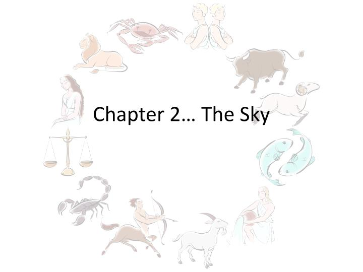 chapter 2 the sky n.