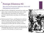 foreign dilemma 2