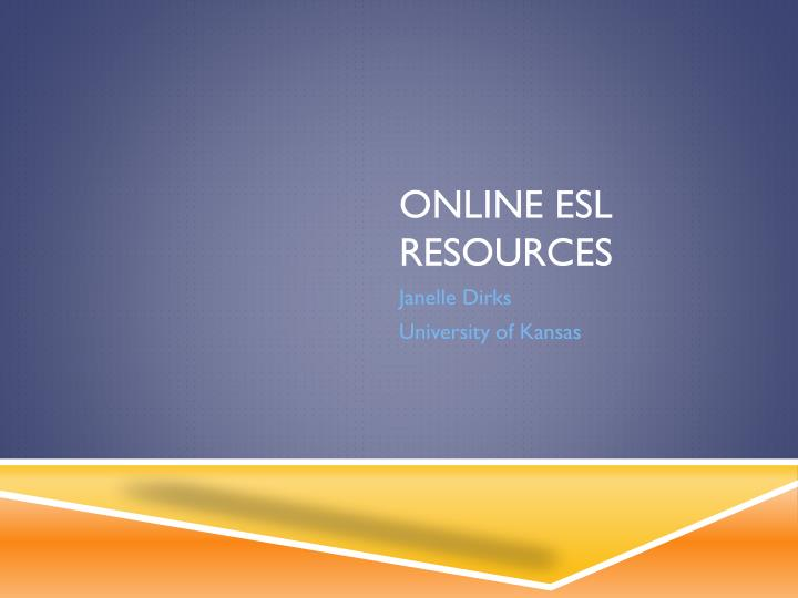online esl resources n.
