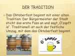 der tradition