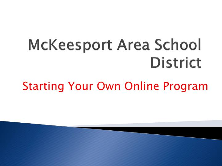mckeesport area school district n.