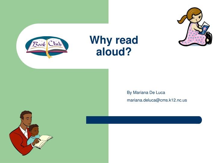 why read aloud n.