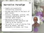 narrative paradigm