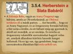 3 5 4 herberstein a s lata bab r l