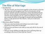 the rite of marriage1