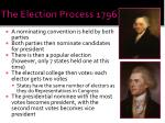 the election process 1796