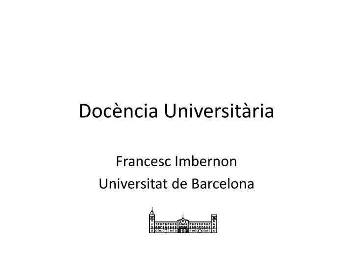 doc ncia universit ria n.