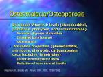 osteomalacia osteoporosis