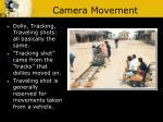 camera movement1