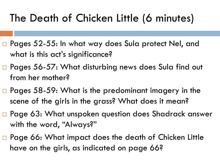 the death of chicken little 6 minutes n.