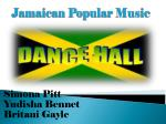 jamaican popular music