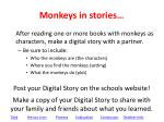 monkeys in stories