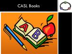 casl books