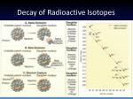 decay of radioactive isotopes2