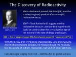 the discovery of radioactivity2