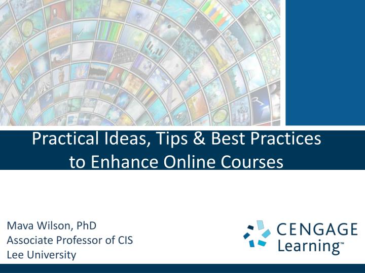practical ideas tips best practices to enhance online courses n.