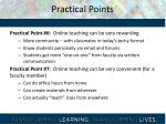 practical points2