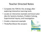 teacher directed notes1