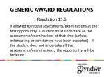 generic award regulations2