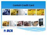contoh credit card