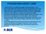 pengertian credit card