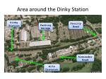 area around the dinky station